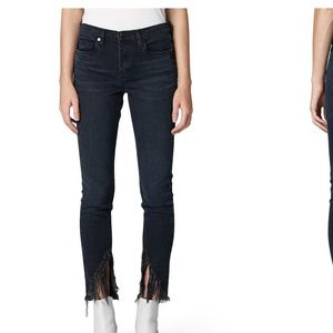 Blank NYC The Bond Fray Hem Skinny Jeans